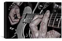 Guitar Hands, Canvas Print