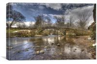 Beckfoot Bridge, Canvas Print