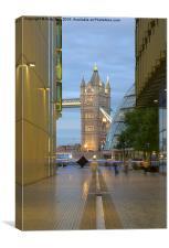 Tower Bridge, Canvas Print