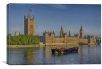 Palace of Westminster, Canvas Print