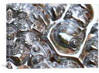 Metallic Bubbles, Canvas Print
