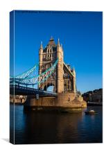 Tower Bridge South Bank, Canvas Print