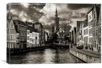 Venice of the North I, Canvas Print