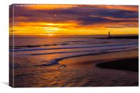 Promising start to the day?, Canvas Print