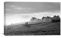 Aldeburgh beach, Canvas Print