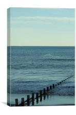 Out to the North Sea, Canvas Print