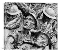 Battle of Britain Memorial, Canvas Print