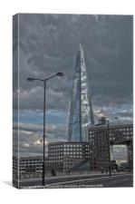 The Shard at London Bridge, Canvas Print