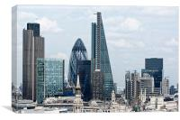 City of London Panorama, Canvas Print