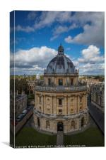 Bodleian Library in Oxford, Canvas Print