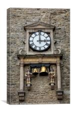 Carfax Clock Tower in Oxford, Canvas Print