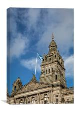Glasgow City Centre Building, Canvas Print