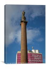 People Make Glasgow, Canvas Print