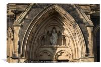 Southwark Cathedral Entrance, Canvas Print