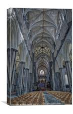 Salisbury Cathedral, Canvas Print