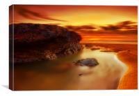 Jupiter Sunrise, Canvas Print