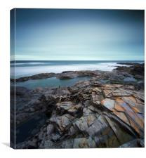 Treyarnon Bay, Canvas Print