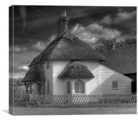 Cobham Gatehouse, Canvas Print