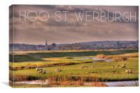 Hoo St Werburgh, Canvas Print