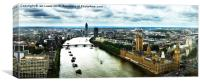 West London Panorama, Canvas Print
