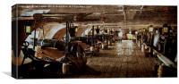 Gun Deck, Canvas Print