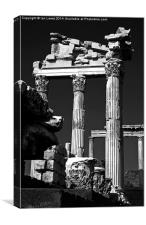 Corinthian Columns at Pergamon, Canvas Print