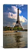 Across the Seine, Canvas Print