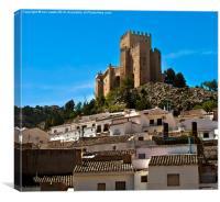 Alcazaba at Velez Blanco, Canvas Print