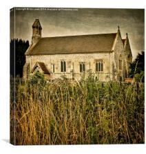 The church at South Moreton, Canvas Print
