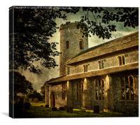 St Margarets Church Burnham Norton, Canvas Print