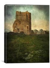 Donnington Castle Gatehouse, Canvas Print