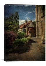 Dorchester Abbey Buildings, Canvas Print