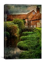 The Old Mill At Bosham, Canvas Print