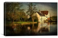 The Mill at Hambleden, Canvas Print