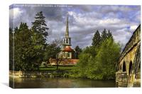 St Peters Church Wallingford, Canvas Print