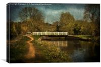 Bridge 33 Kennet and Avon, Canvas Print