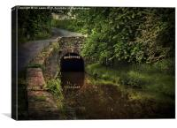 Entrance To The Ashford Tunnel, Canvas Print