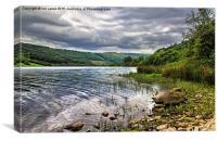 Talybont Reservoir Powys, Canvas Print