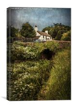 The Lock Keepers Cottage, Canvas Print