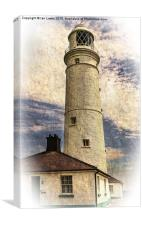 Nash Point East Tower, Canvas Print