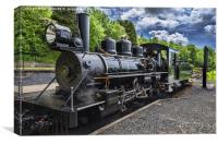 Baldwin Locomotive, Canvas Print