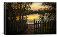Gateway To The Lake, Canvas Print