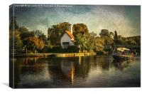 Goring on Thames, Canvas Print