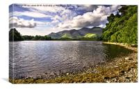 From Friars Crag Derwentwater, Canvas Print