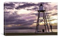 Silloth Lighthouse, Canvas Print