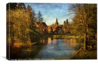 Whitchurch on Thames, Canvas Print