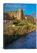 Brecon Castle, Canvas Print