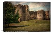 Chepstow Castle Towers, Canvas Print