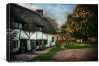 Sulhamstead Abbots Cottages, Canvas Print