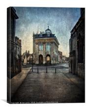 The Town Hall At Abingdon, Canvas Print